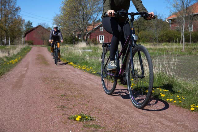 Two bicycles in Houtskär